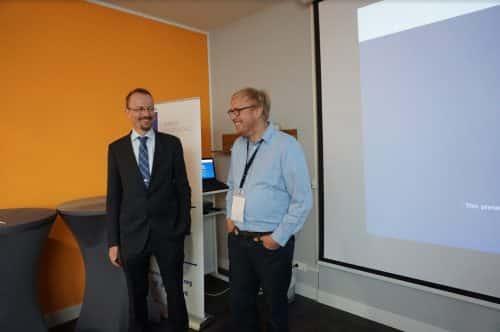 Joachim Schwerin mit Oliver Gajda