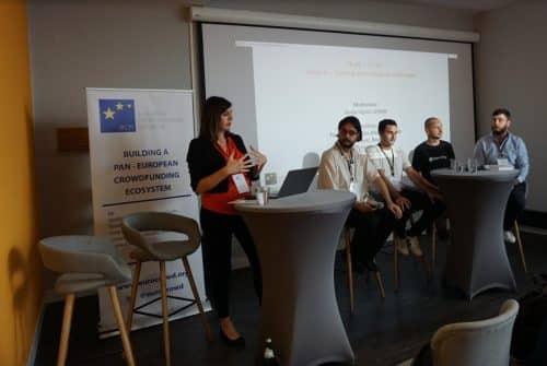 v.l. Sanja Ugrčić, Dr. Veljko Petrović, Alexis Hamel, Meinhard Benn, Pavel Kravchenko