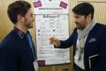 Gründer Poster Session Austausch